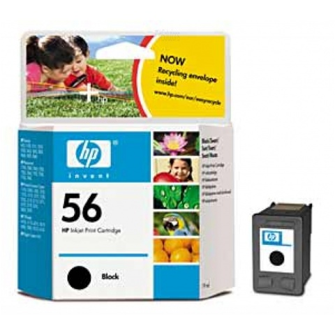Cartridge HP C6656A No.56 black 19ml /DJ450ci/cbi,