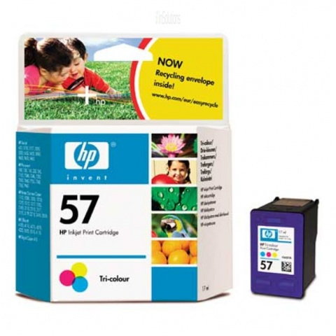 Cartridge HP C6657A No.57 tri-colour 17ml /DJ450ci